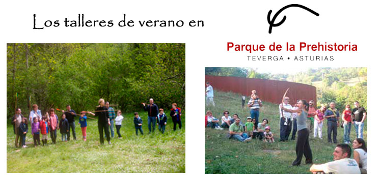 Asturias con niños: Los talleres de verano del Parque de la Prehistoria de Teverga