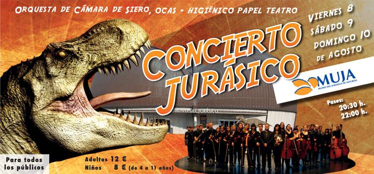 Asturias con niños: Concierto Jurásico