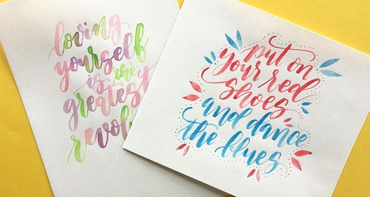 Ciclo de talleres de lettering