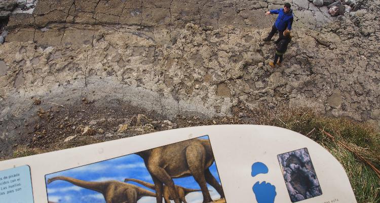 Visitas al yacimiento de la Playa de La Griega con el equipo científico del Museo
