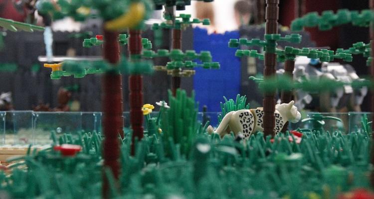 Exposición temporal 10.000 a. L. (Antes de Lego®)