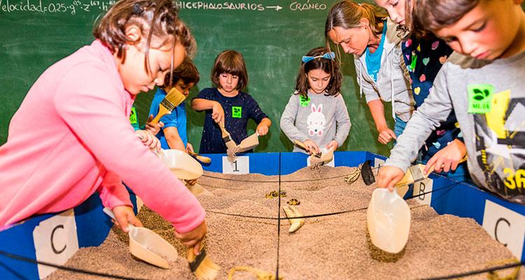Visita-taller Paleontólogo por un día