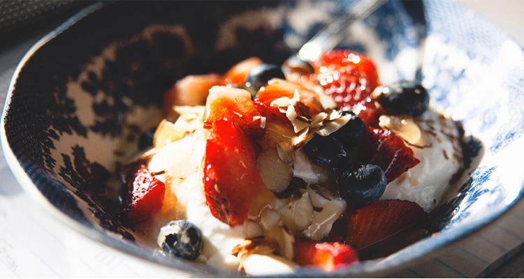 Cocina saludable: a merendar