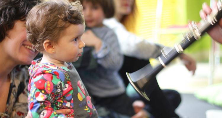 Concierto-taller para bebés