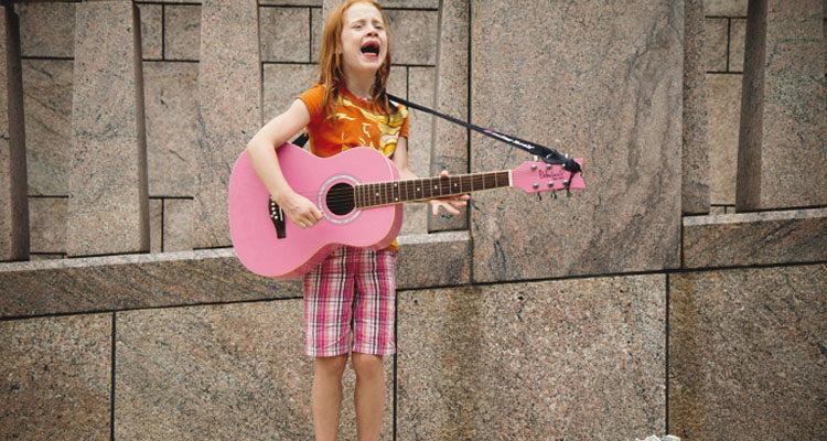 Cantando en familia
